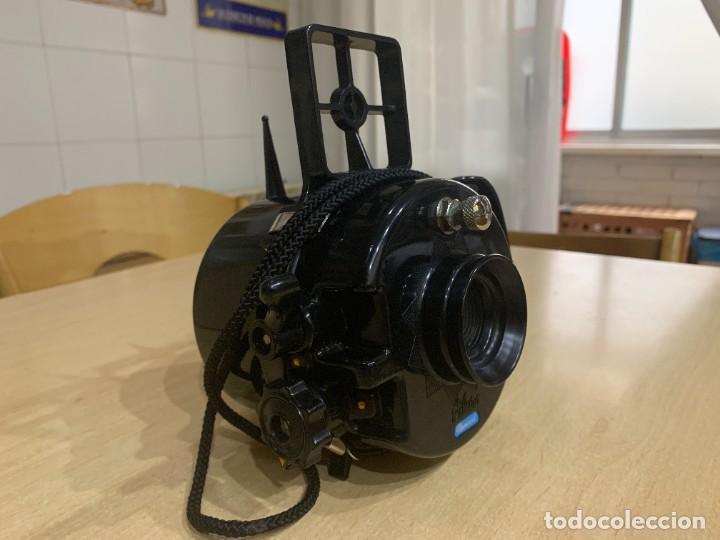 Cámara de fotos: CAMARA SUBMARINA NEMROD SILURO MODELO A 1 FABRICADA EN ESPAÑA - Foto 4 - 283887128