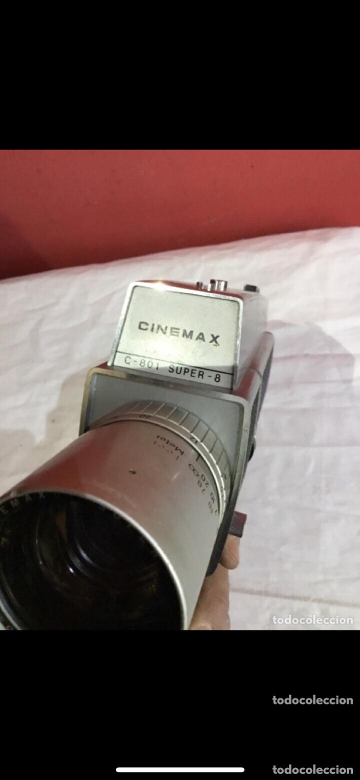 Cámara de fotos: Cámara de cine Cinemax Super 8 Modelo C-801 de los años 60.ver fotos - Foto 6 - 286323703