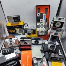 Câmaras de fotos: LOTE 14 CÁMARAS FOTOGRAFÍA ANTIGUAS + ACCESORIOS. Lote 286984083