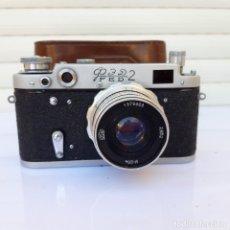 Câmaras de fotos: FED 2 TIPO C (1956) CON 52 MM F2.8,. Lote 287606573