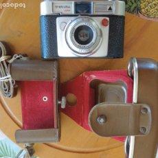 Cámara de fotos: CAMARA WERLISA COLOR - LAOTAR 1:2,8/45MM ANASTIGMATICO - CON FUNDA MARRÓN.. Lote 288646953