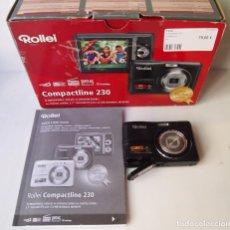 Cámara de fotos: CAMARA DIGITAL ROLLEI COMPACTLINE 320. Lote 289313518