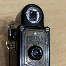 Cámara de fotos: CORONET MIDGET MINIATURA NEGRA. Lote 294066918