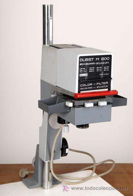 AMPLIADORA DURST M600 (Cámaras Fotográficas Antiguas - Objetivos y Complementos )
