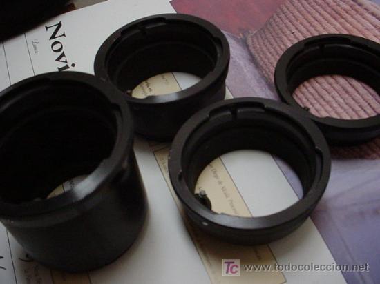 Cámara de fotos: 4 anillos de extension Pentacon Six - Foto 3 - 26201266