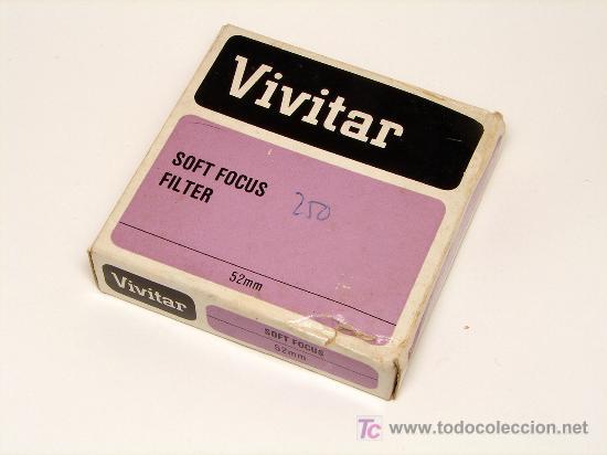 Cámara de fotos: FILTRO VIVITAR SOFT FOCUS 52 mm EN CAJA, COMO NUEVO - Foto 2 - 8770740