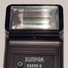 Cámara de fotos: FLASH SUNPAK CA 220-S. Lote 14276031