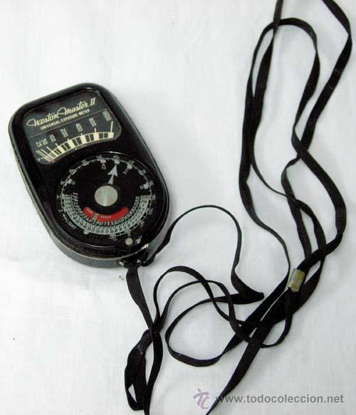 Cámara de fotos: Fotómetro Weston Master II Universal Exposure Meter Modelo 735 Made in USA sin probar - Foto 3 - 31535086