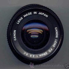 Cámara de fotos: ORIGINAL CANON FD 28 MM. S.C., . Lote 27158234
