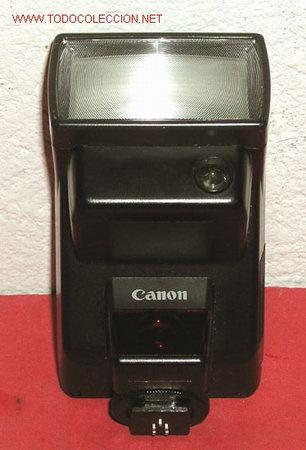 FLASH CANON 300 EZ (Cámaras Fotográficas Antiguas - Objetivos y Complementos )