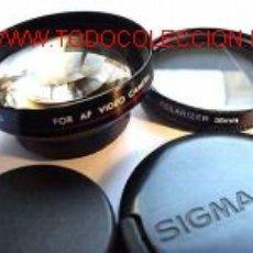 Cámara de fotos - SIGMA TELE CONVERTER + FILTRO POLARIZADO PARA VIDEO CAMARAS - 17296899