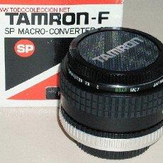 Cámara de fotos: TAMRON -F 2X SP MACRO CONVERTER PARA CANON. Lote 26039320