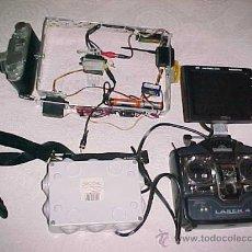 Cámara de fotos: EQUIPO COMPLETO DE RADICONTROL CON MONITOR.PARA DRONES ETC.... Lote 25512826