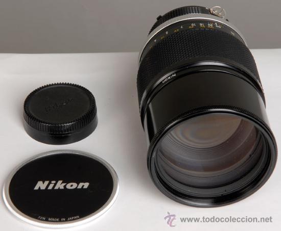 Cámara de fotos: NIKON NIKKOR-P 180MM F:2,8 AI ¡ESPECTACULAR¡ - Foto 4 - 25736615