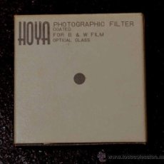 Cámara de fotos: HOYA PHOTOGRAPHIC FILTER COATED B&W FILM OPTICAL GLASS 34,5S MM YELLOW (K2). Lote 37390341