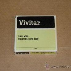 Cámara de fotos: VIVITAR SUPER WIDE COLLAPSIBLE LENS HOOD 55 MM.. Lote 12845997