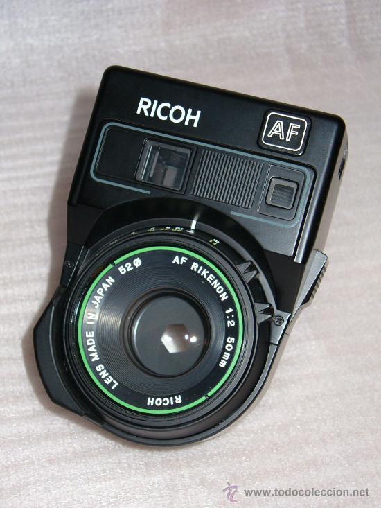 Cámara de fotos: OBJETIVO AF RICOH CON ESTUCHE DE CUERO (NUEVO) AF RIKENON 1:2 50MM (52 ) - Foto 2 - 26287183