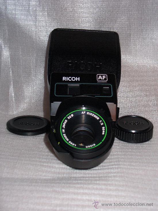 Cámara de fotos: OBJETIVO AF RICOH CON ESTUCHE DE CUERO (NUEVO) AF RIKENON 1:2 50MM (52 ) - Foto 3 - 26287183