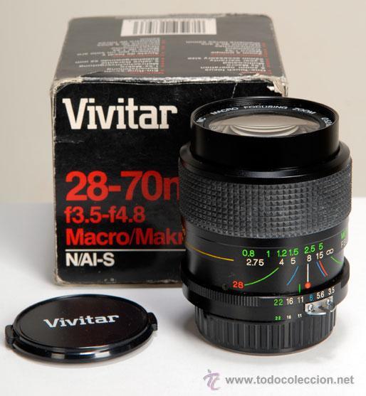 Cámara de fotos: VIVITAR 28-70MM/3,5-4.8 MACRO, AIS PARA NIKON - Foto 2 - 20186547