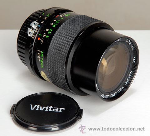 Cámara de fotos: VIVITAR 28-70MM/3,5-4.8 MACRO, AIS PARA NIKON - Foto 3 - 20186547