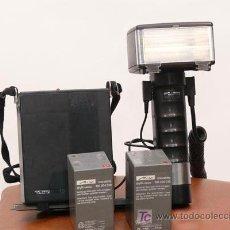 Fotocamere: FLASH METZ PROFESIONAL C45 CON DOS BATERIAS Y CARGADOR. Lote 52387640