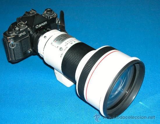 Cámara de fotos: CANON LENS - FD 300 mm 1:2.8 L - PROFESIONAL - MUY LUMINOSO - CANON ORIGINAL- CAMARA F1 NO - Foto 4 - 26269957