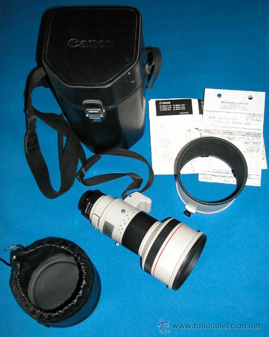 Cámara de fotos: CANON LENS - FD 300 mm 1:2.8 L - PROFESIONAL - MUY LUMINOSO - CANON ORIGINAL- CAMARA F1 NO - Foto 5 - 26269957