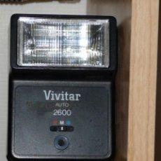 Cámara de fotos: FLASH VIVITAR AUTO 2600. Lote 23354808