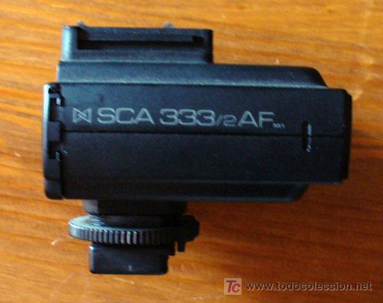 ADAPTADOR METZ SCA 333/2 AF PARA MINOLTA DYNAX (Cámaras Fotográficas Antiguas - Objetivos y Complementos )