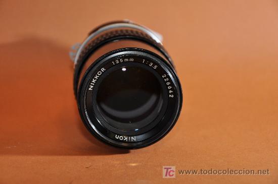 Cámara de fotos: Objetivo Nikkor 135mm f:3,5 AI - Foto 3 - 17926814
