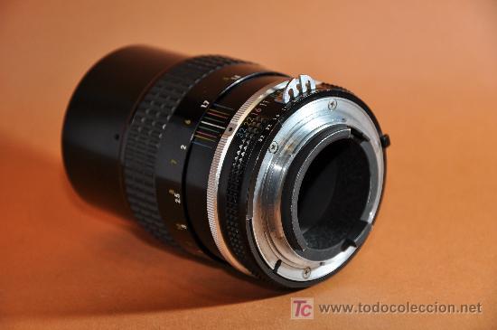 Cámara de fotos: Objetivo Nikkor 135mm f:3,5 AI - Foto 2 - 17926814