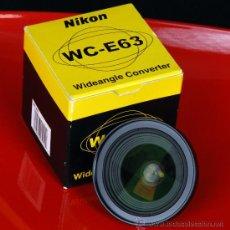 Cámara de fotos: NIKON WC-E63 OBJETIVO CONVERTIDOR WIDEANGLE . Lote 27085300