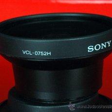 Cámara de fotos: SONY VCL0752H DELUXE ANGULAR CONVERSION. Lote 27085325