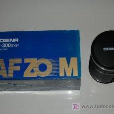 Cámara de fotos: COSINA OBJETIVO CANON AF ZOOM 28-300MM F4,0-6,3 MC -NUEVO-. Lote 18539273