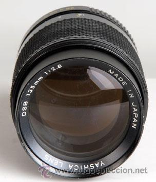 YASHICA 135MM/2,8 PARA CONTAX-YASHICA (Cámaras Fotográficas Antiguas - Objetivos y Complementos )