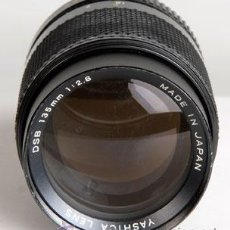 Cámara de fotos: YASHICA 135MM/2,8 PARA CONTAX-YASHICA. Lote 20500972