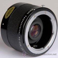 Cámara de fotos: NIKON TELECONVERTIDOR TC-200 2X AI. Lote 19195196