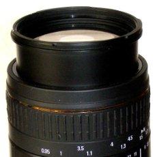 Cámara de fotos: OBJETIVO SIGMA APO MACRO SUPER 70-300 PARA MINOLTA.. Lote 21822221