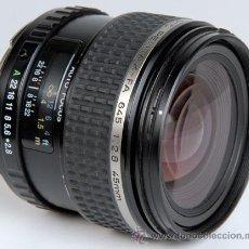 Cámara de fotos: PENTAX 645 SMC-FA 45MM/2,8 AUTOFOCO. Lote 23556154