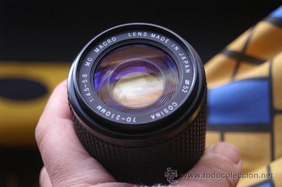 Cámara de fotos: Zoom Cosinon 70-210 para Canon FD - Foto 2 - 24599385