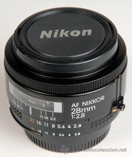Cámara de fotos: NIKON AF-NIKKOR 28MM F:2.8 - Foto 4 - 26255651