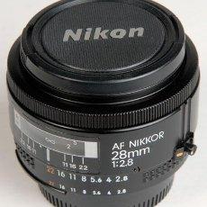 Cámara de fotos: NIKON AF-NIKKOR 28MM/2,8 ¡EXCELENTE¡. Lote 26255651