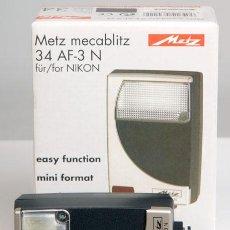 Cámara de fotos: METZ MECABLITZ 34 AF-3N - PARA NIKON - NUEVO. Lote 26280010