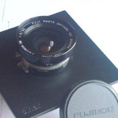 Cámara de fotos: FUJINON SW 90MM F8 Nº 904484 EN OBTURADOR SEIKO LS17 GRAN FORMATO. Lote 26787991