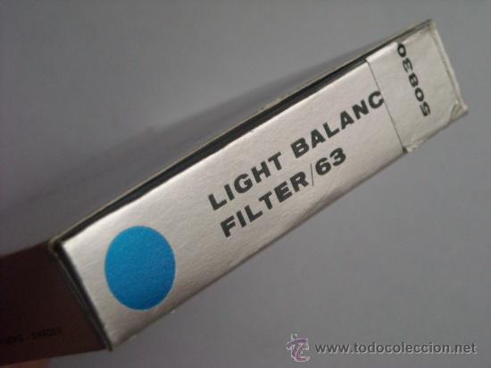 Cámara de fotos: Filtro Hasselblad 63 CR 3 - 0 50830 Nuevo caja origen instrucciones para 500C/M 2000FC 500 EL/M SWC - Foto 4 - 27239657