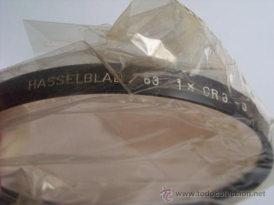Cámara de fotos: Filtro Hasselblad 63 CR 3 - 0 50830 Nuevo caja origen instrucciones para 500C/M 2000FC 500 EL/M SWC - Foto 3 - 27239657
