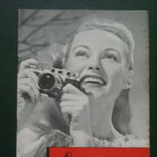 Cámara de fotos: LEITZ NEW YORK LITERATURA LEICA III C COMPLETO 8 PAGINAS.. Lote 27917499