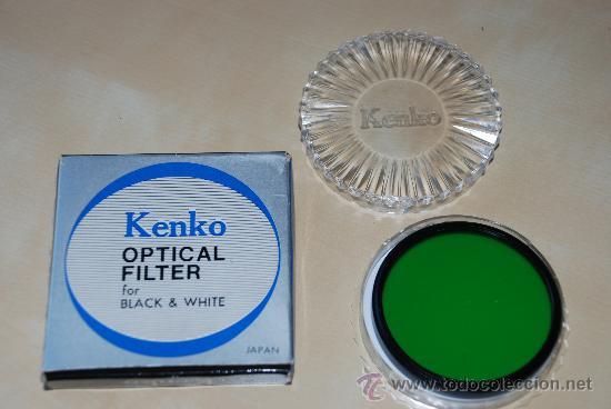 FILTRO KENKO P01 PARA BLANCO Y NEGRO 58 MM (Cámaras Fotográficas Antiguas - Objetivos y Complementos )