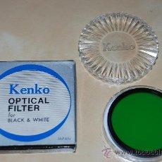 Cámara de fotos: FILTRO KENKO P01 PARA BLANCO Y NEGRO 58 MM. Lote 28061534