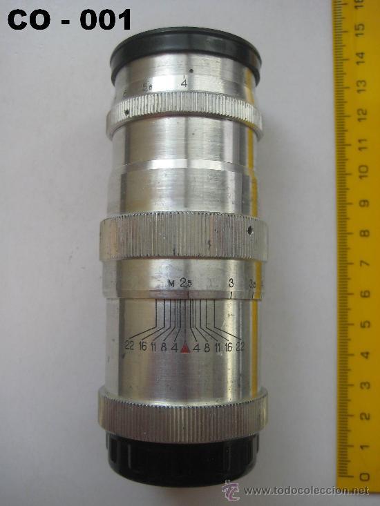 Cámara de fotos: OBJETIVO RUSO JUPITER - 11 DE 135 mm. PARA ZORKY, FED ... ROSCA 39 mm. ENVÍO CERTIFICADO GRATUITO. - Foto 2 - 28415776